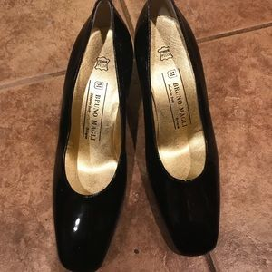 Bruno Magli patent leather shoes size 8.5